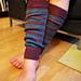 Stripey Legwarmers pattern