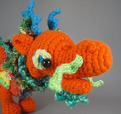 Baby Asian Dragon Amigurumi | Crochet dragon, Crochet dragon ... | 226x240