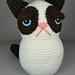 amigurumi grumpy kitty pattern