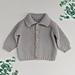 Mossy Baby Cardigan pattern