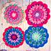 Lovely Mandala Trivet pattern