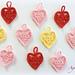 Coeur au crochet pattern