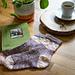 Wisteria Bloom Socks pattern