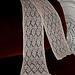 Beaded Diamond Scarf pattern