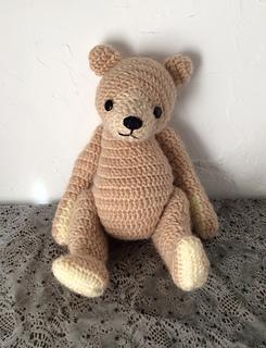 Ravelry: Large Crocheted Teddy Bear pattern by Sonea Delvon..17 ... | 320x245