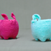 Easter Rabbit Mini Basket / イースターラビットのミニバスケット pattern