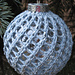 Knitted Christmas Ornament Covers pattern