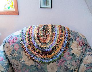 Crochet Oval Rag Rugs Pattern