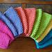 Alaina's Simple Seed Stitch Dishcloth pattern