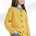 Child's Crochet Crew Neck Cardigan pattern