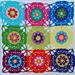 Boho Blossom Square pattern
