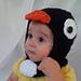 The Speedy Penguin Hood pattern