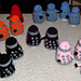 Dalek Egg Cosy pattern