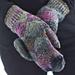 Fenugreek mittens pattern