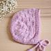 Dandelion (Bonnet) pattern
