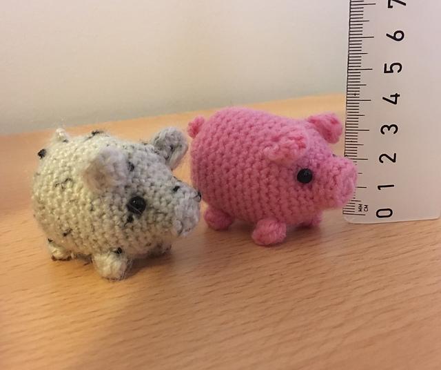 Cube Piggy Pig Amigurumi Pattern   536x640