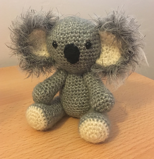Amigurumi Knitting crochet koala amigurumi – Amigurumi Patterns | 320x310