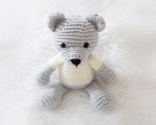 Ravelry: Amigurumi Teddy Bear pattern by Viktorija Dineikiene | 256x320