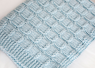 Snuggle Time Baby Blanket Pattern By Leelee Knits Ravelry