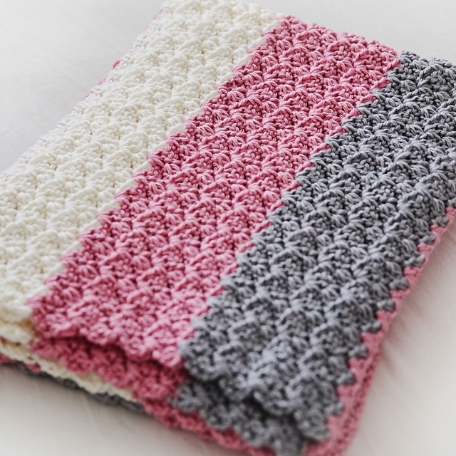 Ravelry Simply Sweet Baby Blanket Pattern By Leelee Knits