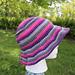 Gothic Kitty Bucket Hat pattern