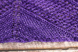 Seed Stitch Right Side