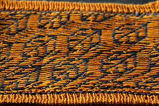 Wrong Side - Wrapped Floats Every 5-6 Stitches