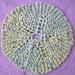 Sand Dollar Washcloth pattern
