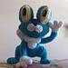 Froakie Inspired Frog (Pokemon) pattern
