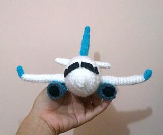 Crochet Amigurumi Pattern - Love Plane - | 266x320