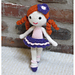 Amigurumi Doll 'Little Ballerina' pattern