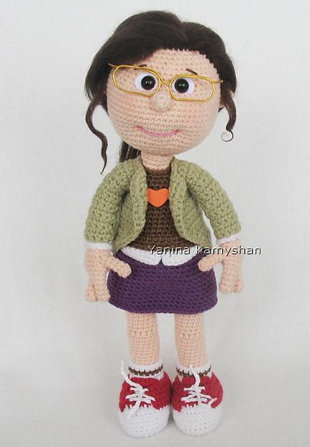 Amigurumi Doll Pacifier Baby Free Crochet Pattern - Crochet.msa.plus | 640x444