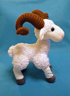 Jim the Goat Crochet Amigurumi Pattern – Shiny Happy World | 320x233