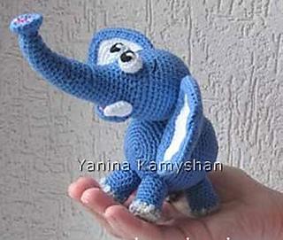 Crochet Ella the Elephant Amigurumi Free Pattern - #Crochet ... | 271x320