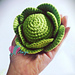 Cabbage amigurumi pattern