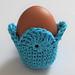 Fan Easter Egg Cozy pattern