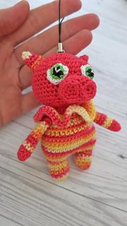 Amigurumi Pig Keychain, Pink Piggy Lover Gift, Little Gifts ... | 320x180