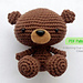 Levi the Baby Bear pattern