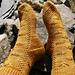 Crazy Castiel Socks (Supernatural) pattern
