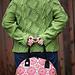 Peapod Aran Jacket pattern