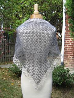 Antique Lace Shawl