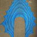 Fountain Leaf Shawl pattern