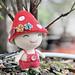Mushroom doll pattern
