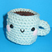 Cafe con Leche Mug pattern