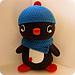 Huggable Penguin ﹤3 pattern