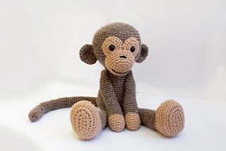 9 free amigurumi monkey patterns: Happy Chinese New Year ... | 213x320