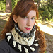 Drawstring Bobble Cowl pattern