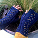 Dragon Scale Fingerless Mitts pattern