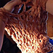 Arm Knitted Infinity Cowl pattern