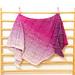 Blackberry pudding shawl pattern